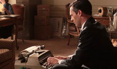 Madmen-don-typing