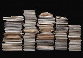 stacks of screenplays